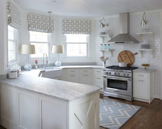 Phòng bếp điệu đà với những mẫu rèm cửa đẹp ngất ngây - Ảnh 10.