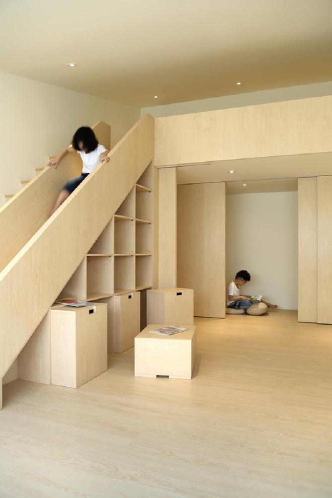 Những mẫu thiết kế sáng tạo dưới đây sẽ biến cầu thang nhà bạn thành khu vui chơi cực hay của trẻ nhỏ - ảnh 7