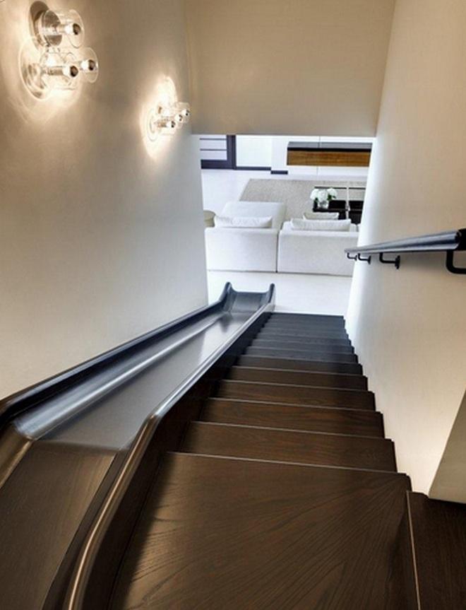 Những mẫu thiết kế sáng tạo dưới đây sẽ biến cầu thang nhà bạn thành khu vui chơi cực hay của trẻ nhỏ - ảnh 8
