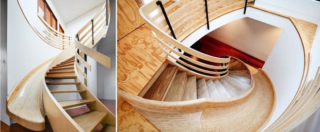 Những mẫu thiết kế sáng tạo dưới đây sẽ biến cầu thang nhà bạn thành khu vui chơi cực hay của trẻ nhỏ - ảnh 9
