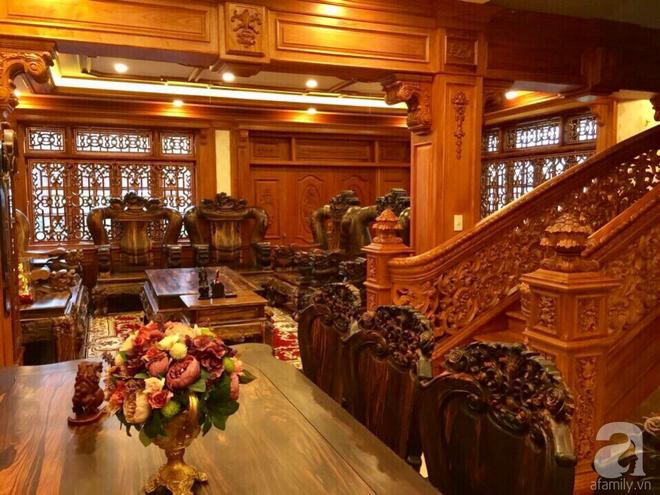 Choáng ngợp khi ngắm cận cảnh căn biệt thự toàn gỗ quý siêu sang giá 55 tỷ ở quận Tân Bình, TP.HCM - Ảnh 10.