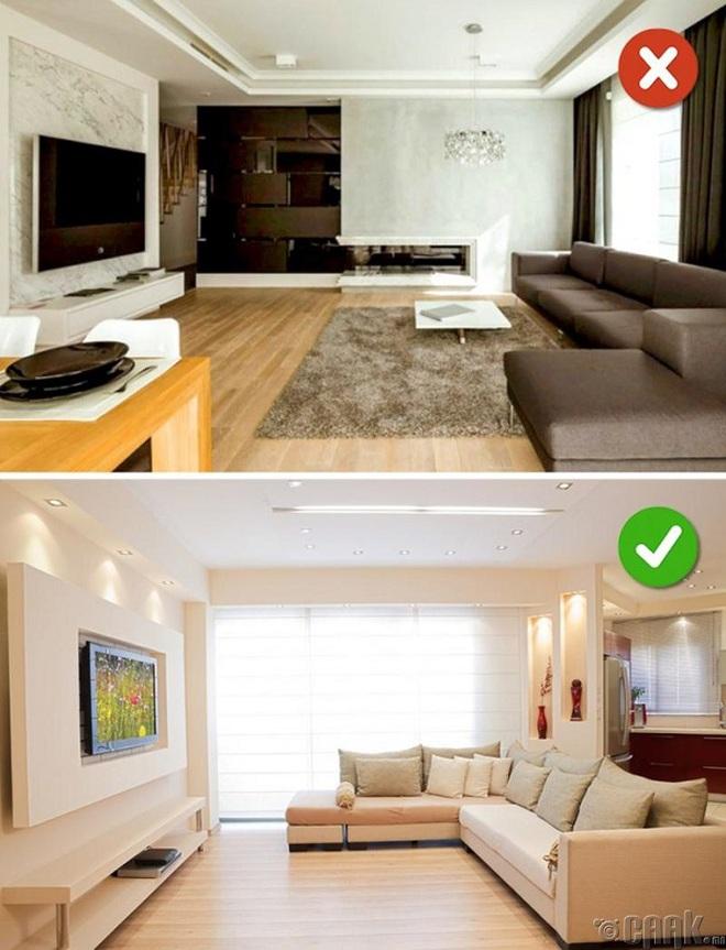 Những sai lầm trong thiết kế phòng khách nếu mắc phải bạn cần thay đổi ngay lập tức - Ảnh 3.