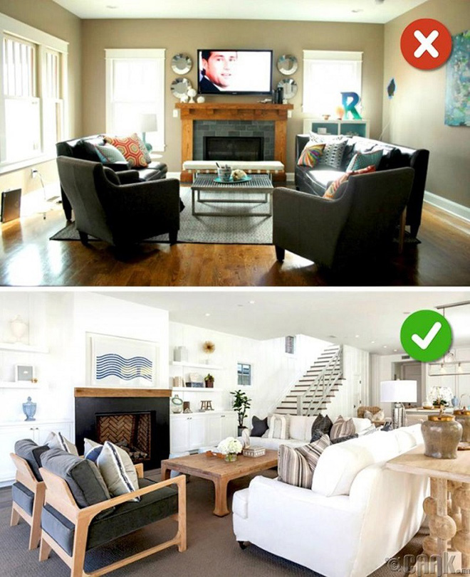 Những sai lầm trong thiết kế phòng khách nếu mắc phải bạn cần thay đổi ngay lập tức - Ảnh 6.