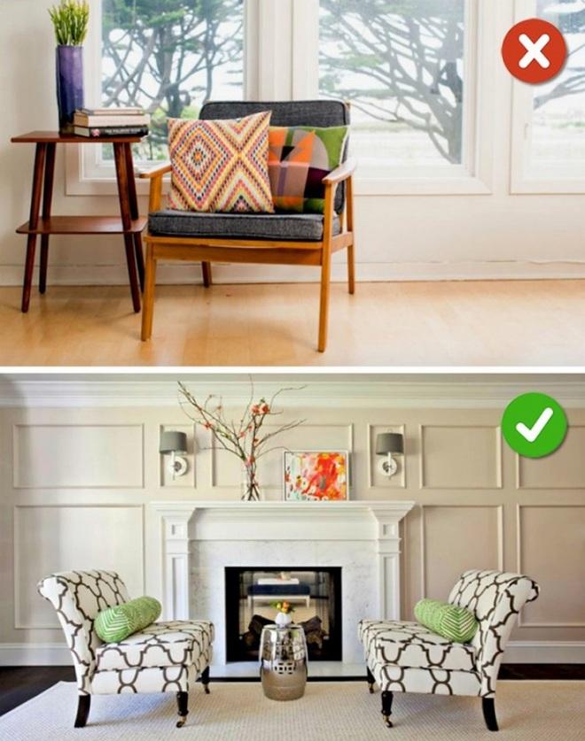 Những sai lầm trong thiết kế phòng khách nếu mắc phải bạn cần thay đổi ngay lập tức - Ảnh 7.