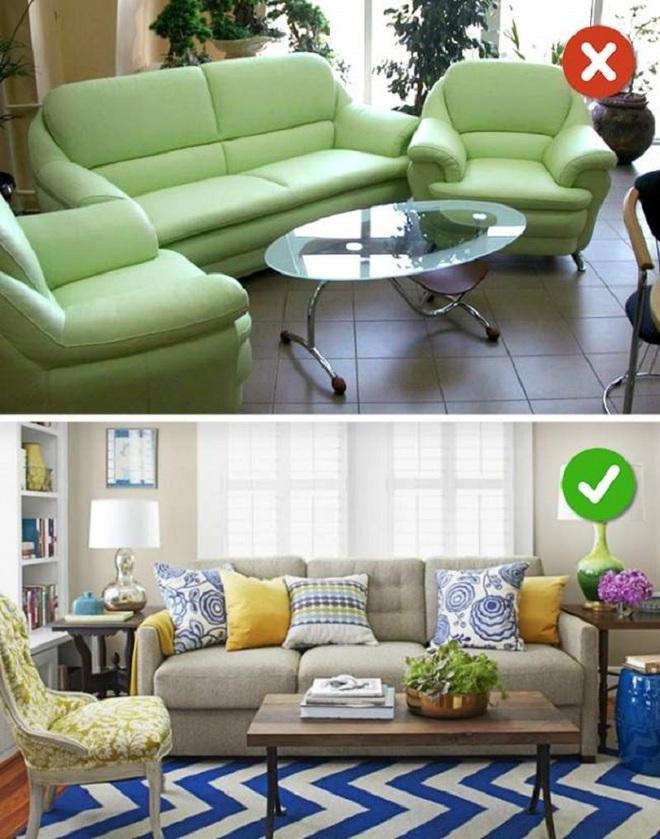Những sai lầm trong thiết kế phòng khách nếu mắc phải bạn cần thay đổi ngay lập tức - Ảnh 8.
