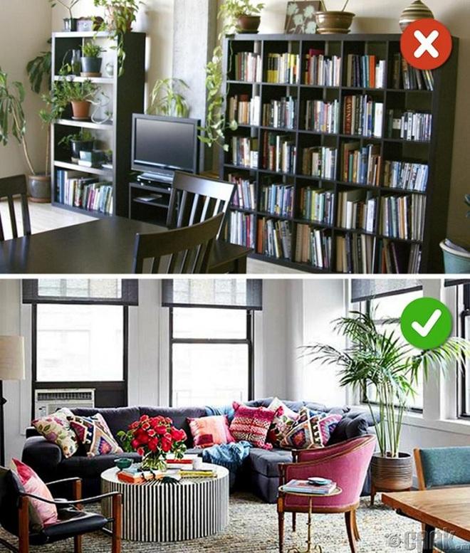 Những sai lầm trong thiết kế phòng khách nếu mắc phải bạn cần thay đổi ngay lập tức - Ảnh 12.