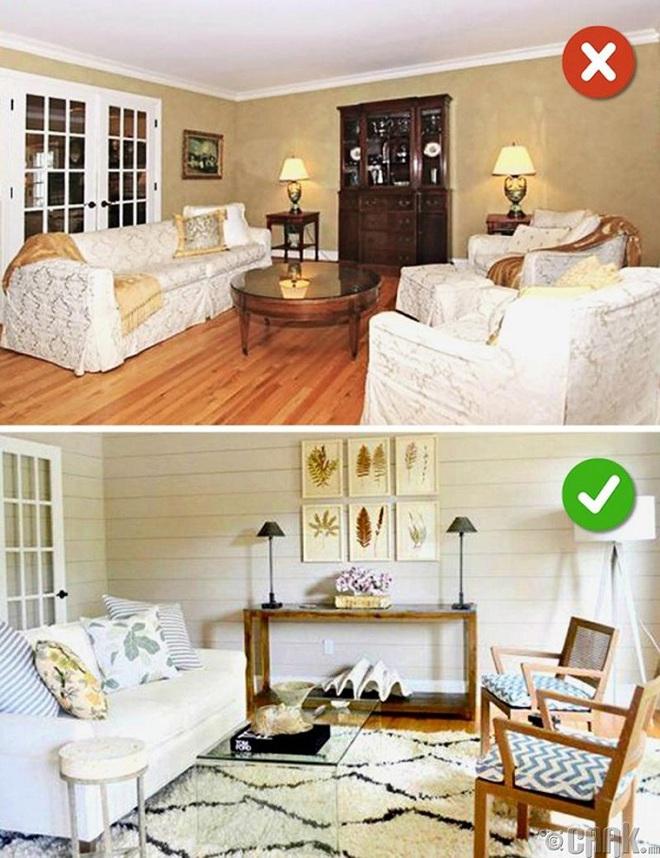 Những sai lầm trong thiết kế phòng khách nếu mắc phải bạn cần thay đổi ngay lập tức - Ảnh 13.