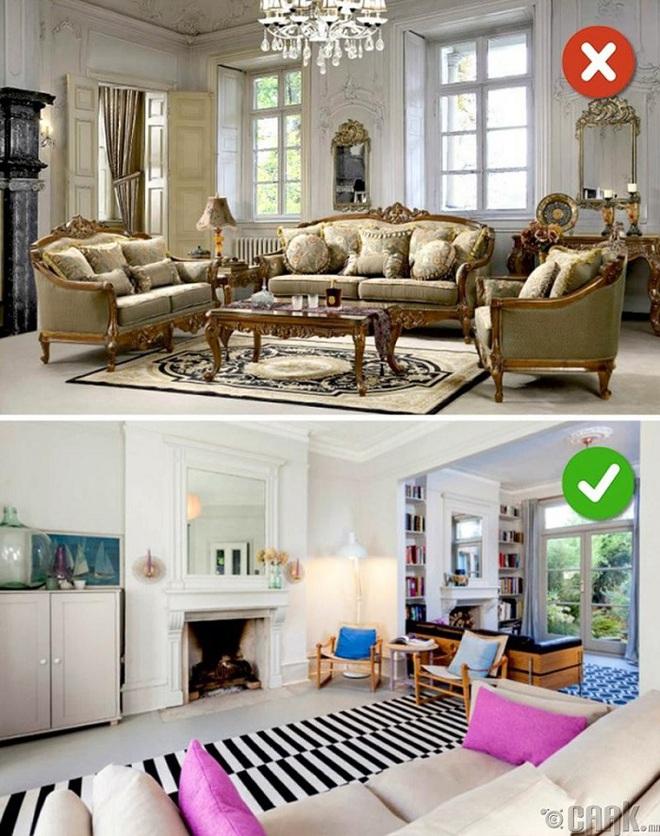 Những sai lầm trong thiết kế phòng khách nếu mắc phải bạn cần thay đổi ngay lập tức - Ảnh 14.