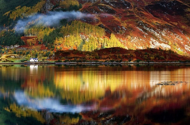 Xem những hình ảnh này mới thấy mùa thu ở đâu cũng đẹp không lời nào tả hết - Ảnh 3.