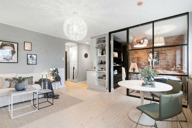 Căn hộ nhỏ 30m² đẹp đến từng góc nhỏ với phong cách trang trí Scandinavians - Ảnh 3.