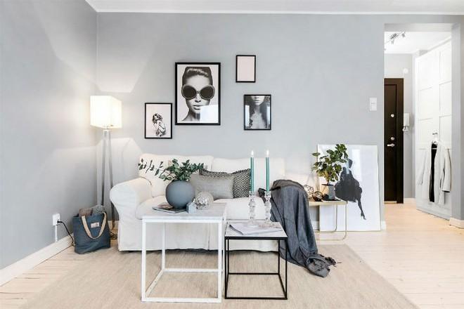 Căn hộ nhỏ 30m² đẹp đến từng góc nhỏ với phong cách trang trí Scandinavians - Ảnh 4.