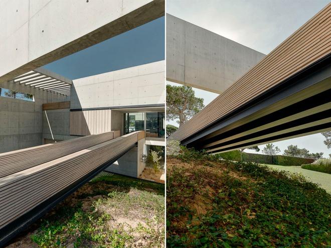 Biệt thự vườn cực chất với bể bơi đáy kính trong suốt trên trần nhà - Ảnh 15.