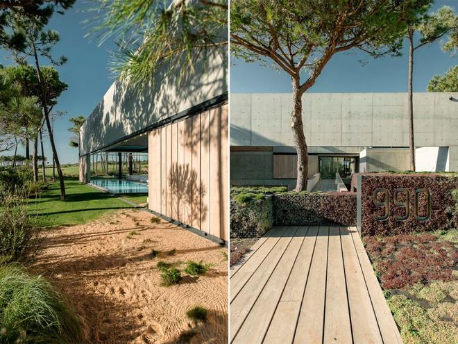 Biệt thự vườn cực chất với bể bơi đáy kính trong suốt trên trần nhà - Ảnh 16.