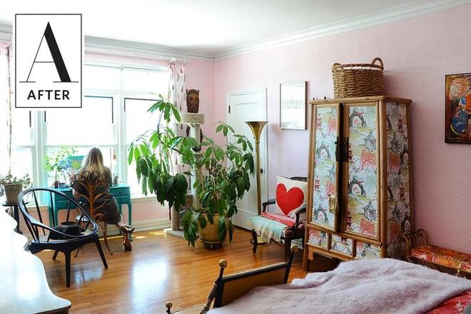 Làm mới phòng ngủ một cách ngẫu hứng, cô gái khiến bao người phải ngưỡng mộ vì sự sáng tạo của mình - Ảnh 9.