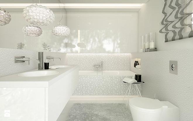 Đèn chùm – món đồ hữu dụng biến phòng tắm gia đình trông vừa đẹp vừa sang trong phút chốc - Ảnh 7.