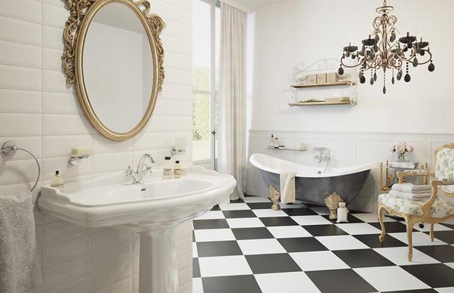 Đèn chùm – món đồ hữu dụng biến phòng tắm gia đình trông vừa đẹp vừa sang trong phút chốc - Ảnh 8.