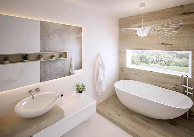 Đèn chùm – món đồ hữu dụng biến phòng tắm gia đình trông vừa đẹp vừa sang trong phút chốc - Ảnh 11.