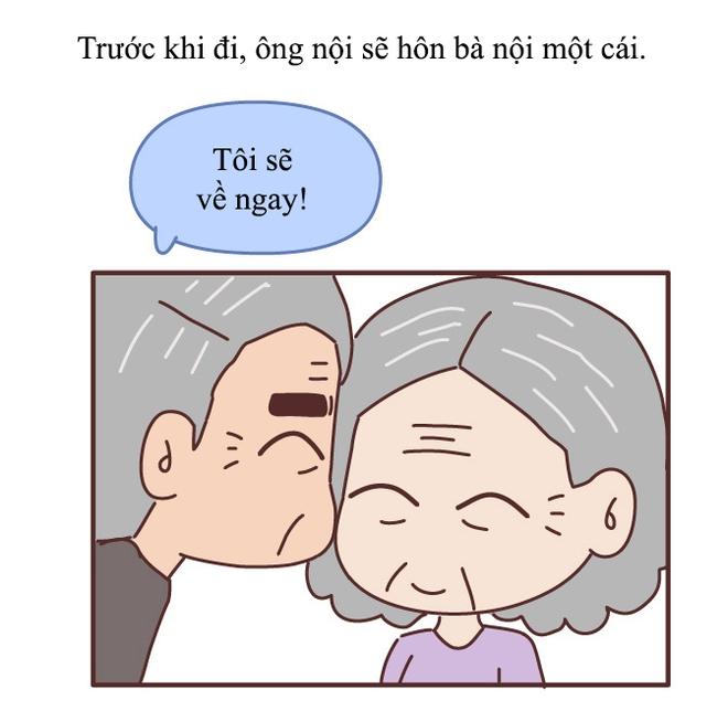 Truyện tranh: Tình yêu thời ông bà anh khác chúng ta thế nào? - Ảnh 6.