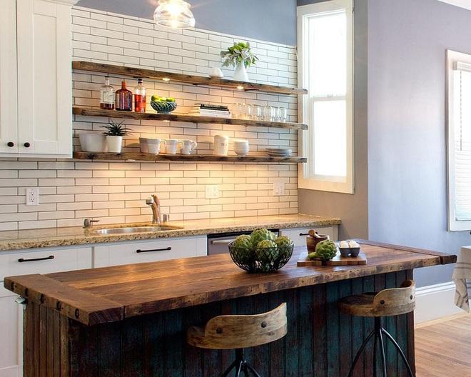 Gỗ - chất liệu không thể thiếu nếu không được sử dụng trong căn bếp nhà bạn - Ảnh 6.