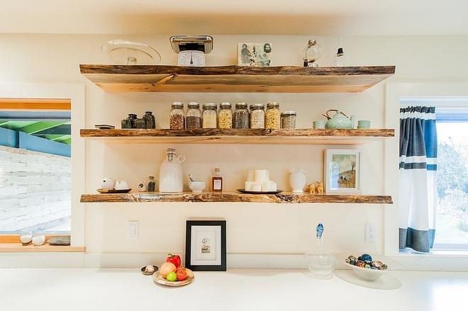 Gỗ - chất liệu không thể thiếu nếu không được sử dụng trong căn bếp nhà bạn - Ảnh 8.
