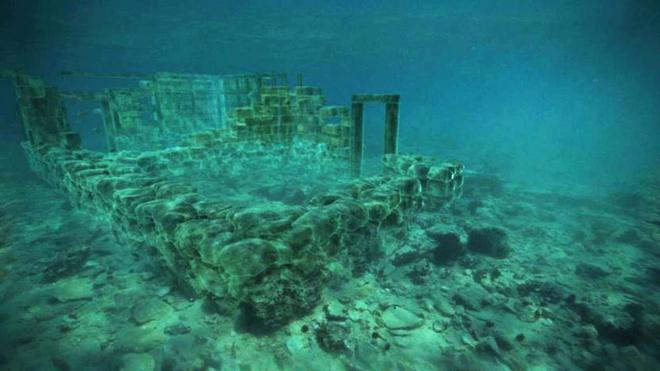 Những thành phố bí ẩn tiết lộ nhiều bí mật động trời chìm sâu dưới đáy đại dương - Ảnh 4.