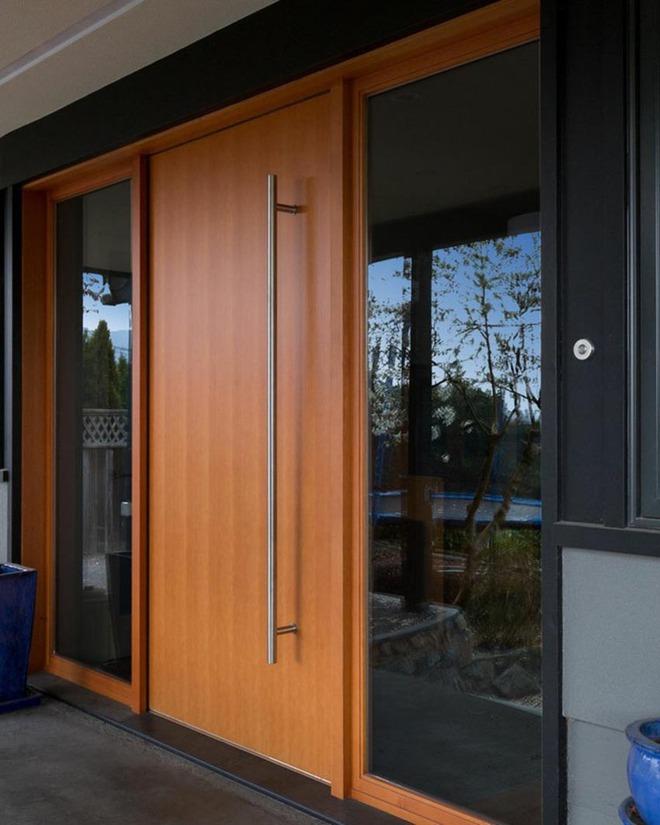Nét thanh lịch khó chối từ của những cánh cửa gỗ - Ảnh 15.