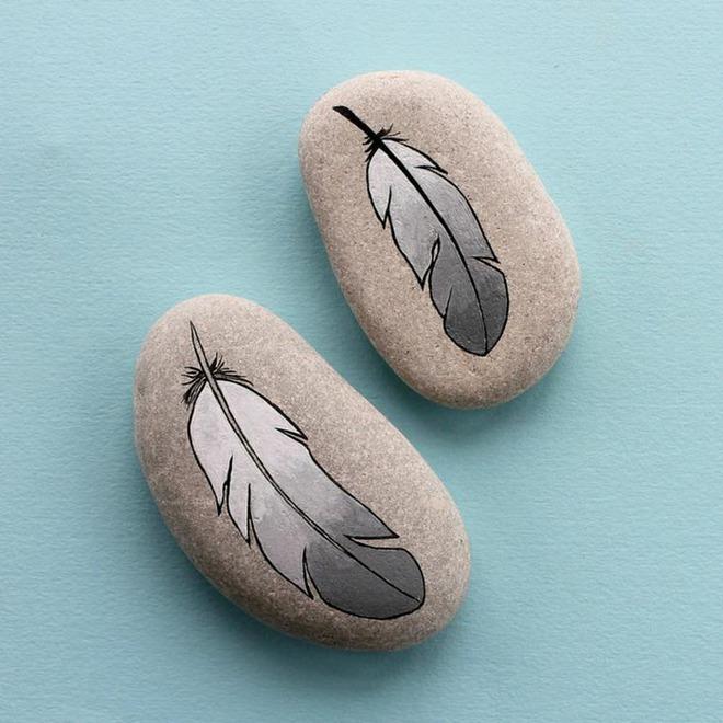 Trang trí nhà cực chất mà lại vô cùng tiết kiệm để đón Tết với những viên đá sỏi rực rỡ sắc màu - Ảnh 7.