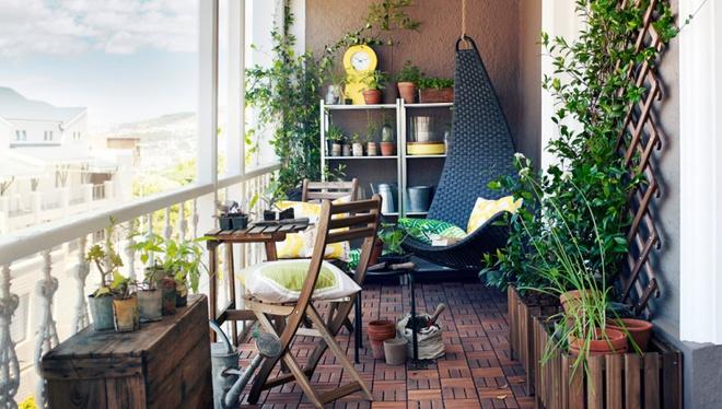 Ban công nhỏ biến thành khu vườn xanh mát đẹp hút ánh nhìn với những ý tưởng đơn giản không ngờ - Ảnh 11.