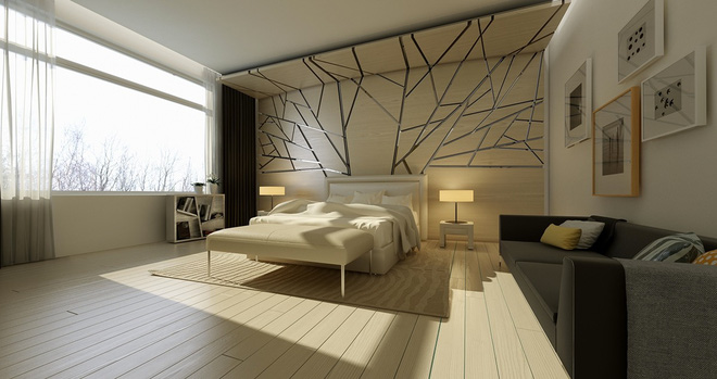 Đừng để góc đầu giường nhàm chán làm mất đi vẻ đẹp của cả căn phòng ngủ - Ảnh 1.