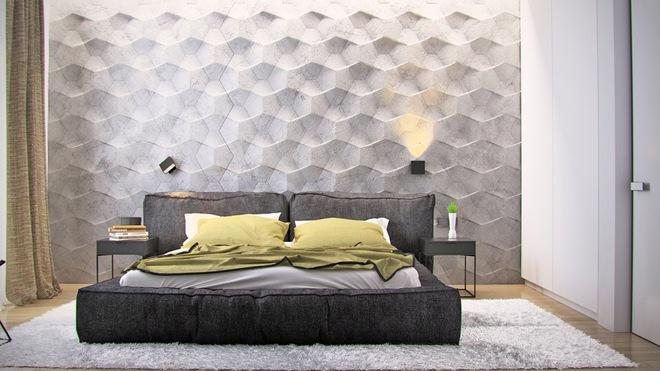 Đừng để góc đầu giường nhàm chán làm mất đi vẻ đẹp của cả căn phòng ngủ - Ảnh 3.