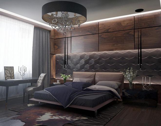 Đừng để góc đầu giường nhàm chán làm mất đi vẻ đẹp của cả căn phòng ngủ - Ảnh 4.