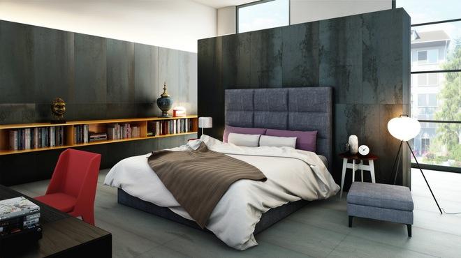 Đừng để góc đầu giường nhàm chán làm mất đi vẻ đẹp của cả căn phòng ngủ - Ảnh 5.