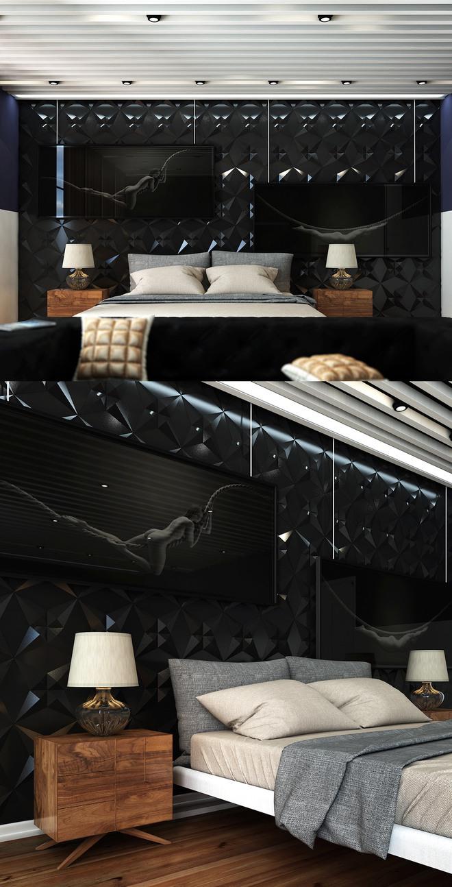 Đừng để góc đầu giường nhàm chán làm mất đi vẻ đẹp của cả căn phòng ngủ - Ảnh 7.