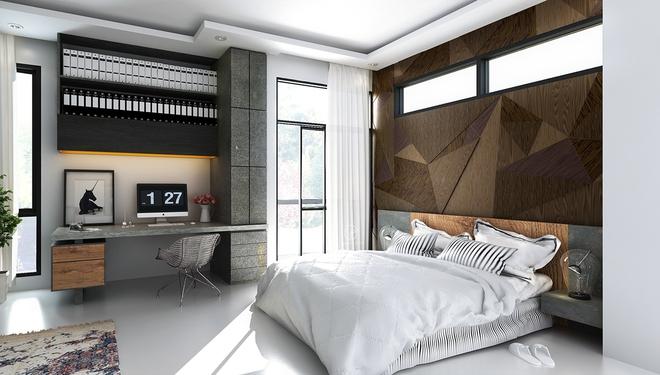 Đừng để góc đầu giường nhàm chán làm mất đi vẻ đẹp của cả căn phòng ngủ - Ảnh 10.