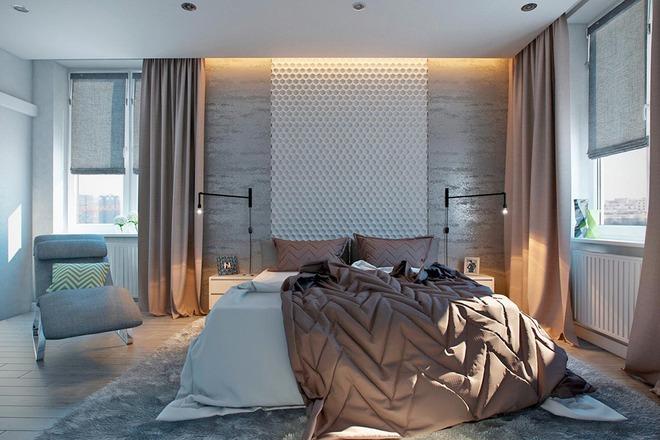 Đừng để góc đầu giường nhàm chán làm mất đi vẻ đẹp của cả căn phòng ngủ - Ảnh 11.