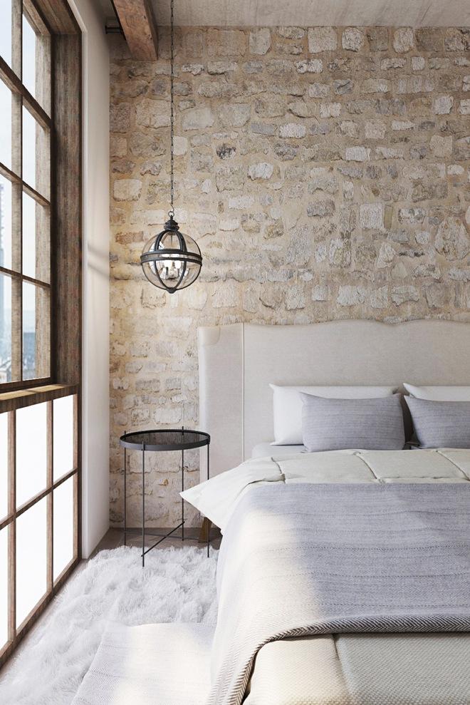 Đừng để góc đầu giường nhàm chán làm mất đi vẻ đẹp của cả căn phòng ngủ - Ảnh 13.
