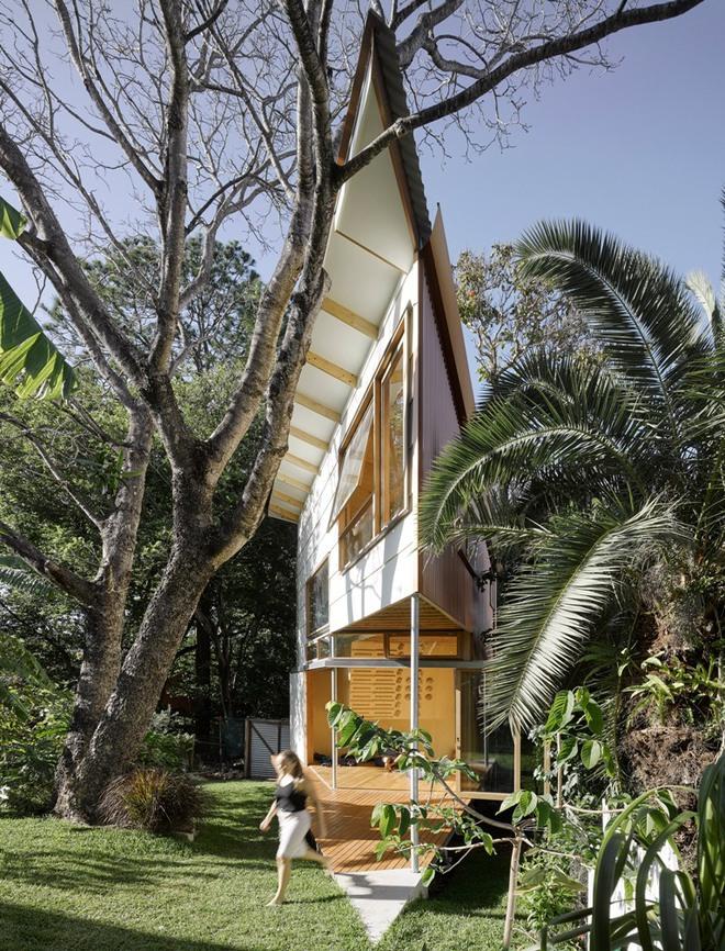 Ngôi nhà nhỏ, hẹp nhưng cũng siêu đẹp khiến ai nhìn cũng muốn đến ở ngay lâp tức - Ảnh 1.