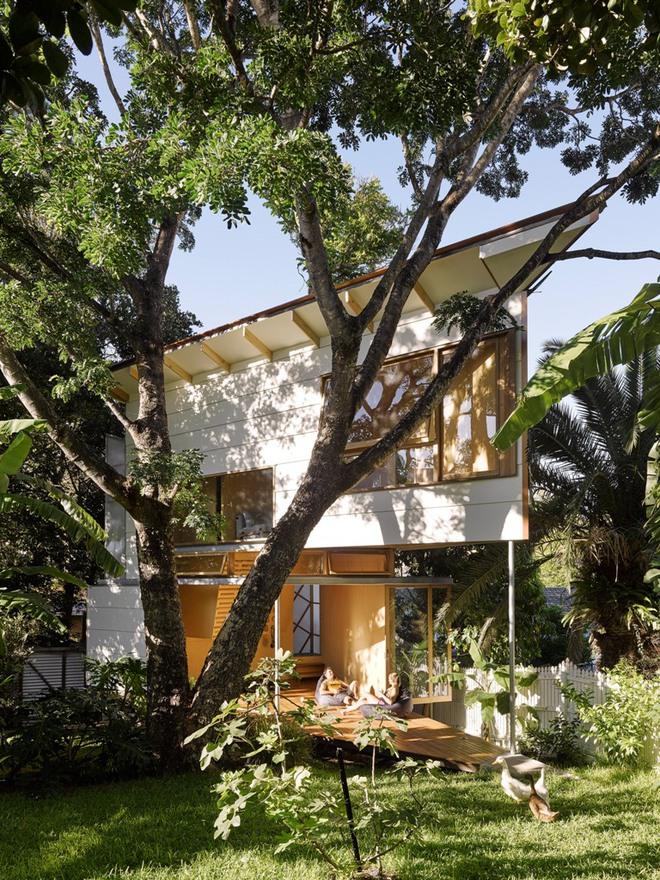 Ngôi nhà nhỏ, hẹp nhưng cũng siêu đẹp khiến ai nhìn cũng muốn đến ở ngay lâp tức - Ảnh 2.