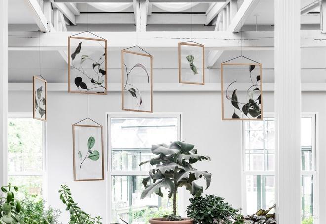 Những nội thất trang trí không gian tuyệt đẹp lấy cảm hứng từ mùa đông - Ảnh 3.