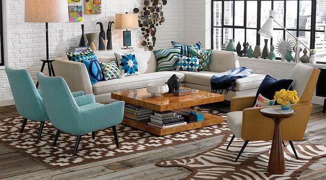 Gợi ý những kiểu ghế sofa vừa đẹp vừa sáng tạo cho phòng khách hiện đại - Ảnh 8.