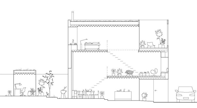 Ngôi nhà đẹp như tranh với lối thiết kế đơn giản tinh tế dưới đây sẽ khiến bạn yêu ngay từ ánh nhìn đầu tiên - Ảnh 17.