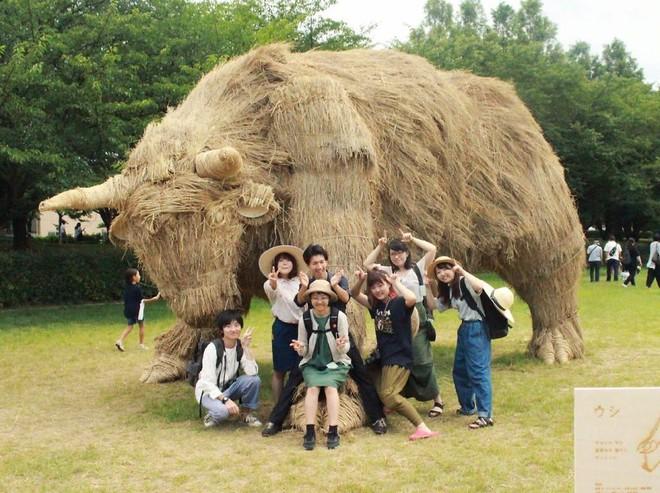 Chỉ với những cọng rơm khô, người Nhật tạo nên nhiều thứ khiến ai cũng thán phục - Ảnh 5.