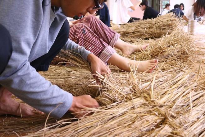 Chỉ với những cọng rơm khô, người Nhật tạo nên nhiều thứ khiến ai cũng thán phục - Ảnh 9.