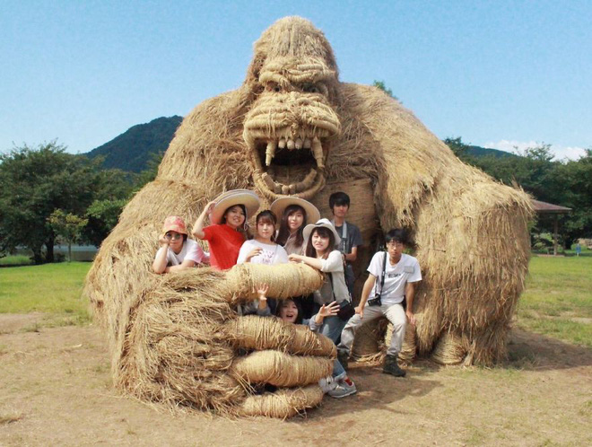 Chỉ với những cọng rơm khô, người Nhật tạo nên nhiều thứ khiến ai cũng thán phục - Ảnh 10.