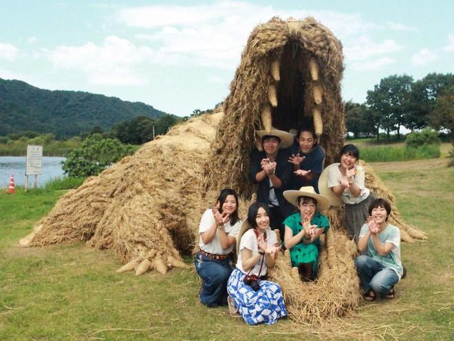 Chỉ với những cọng rơm khô, người Nhật tạo nên nhiều thứ khiến ai cũng thán phục - Ảnh 11.