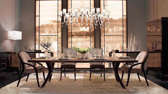 Ngẩn ngơ với vẻ xa hoa của những bộ bàn ăn gia đình - Ảnh 4.