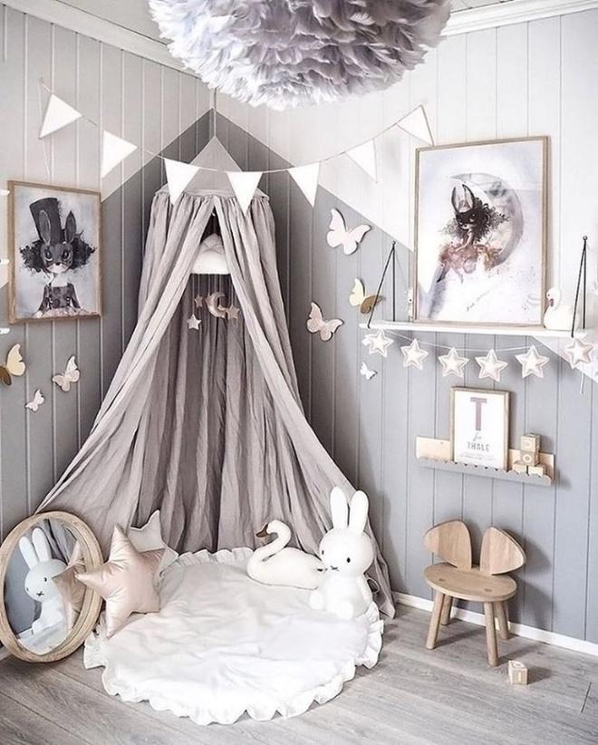 Nếu có con gái, nhất định ba mẹ nên trang trí phòng cho bé đẹp như thế này - Ảnh 7.