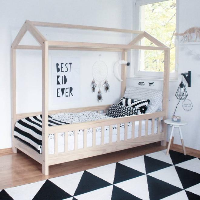 Giường gác mái - món nội thất dành riêng cho bé xinh đến ngẩn ngơ - Ảnh 1.