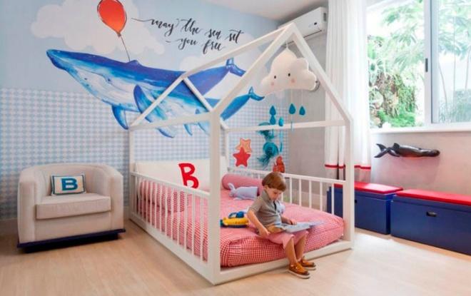 Giường gác mái - món nội thất dành riêng cho bé xinh đến ngẩn ngơ - Ảnh 4.