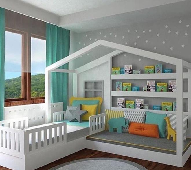 Giường gác mái - món nội thất dành riêng cho bé xinh đến ngẩn ngơ - Ảnh 17.